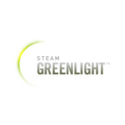 Steam greenlight logo with transparant background
