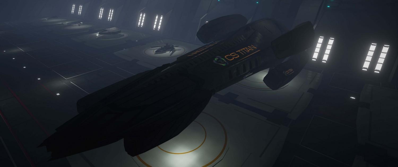 Evolvation Spaceship Class:Tank - CS Titan