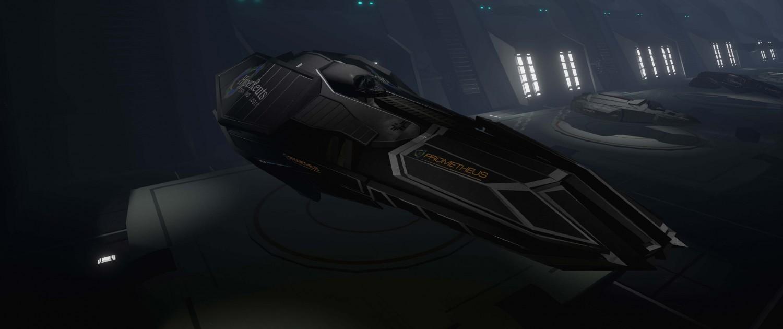 Evolvation Spaceship Class: Tank - Prometheus