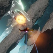 The Raven which has a kill in the pillars map. Note the distortion wave of the explosion!