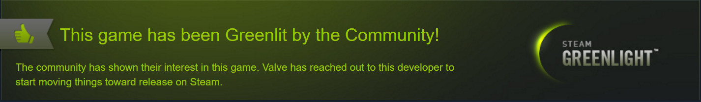 Evolvation Greenlit on Steam banner